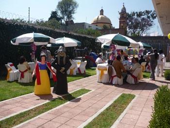 Jard n sal n en xochimilco for Jardin xochimilco